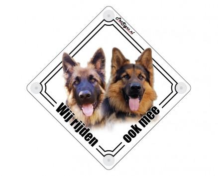 autobord huisdier hond extra groot