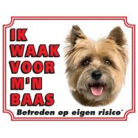 Standaard waakbord Cairn Terrier