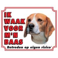 Standaard waakbord Beagle