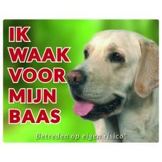 Standaard waakbord Labrador