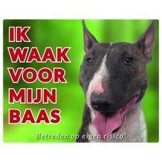 Standaard waakbord Bull Terrier