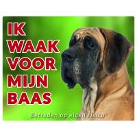Standaard waakbord Duitse Dog