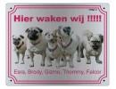 Waakbord PetSigns met eigen foto's