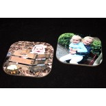 Onderzetters met EIGEN foto's (10 x 10 cm)