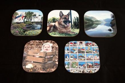 Onderzetters met eigen huisdier foto's bedrukken